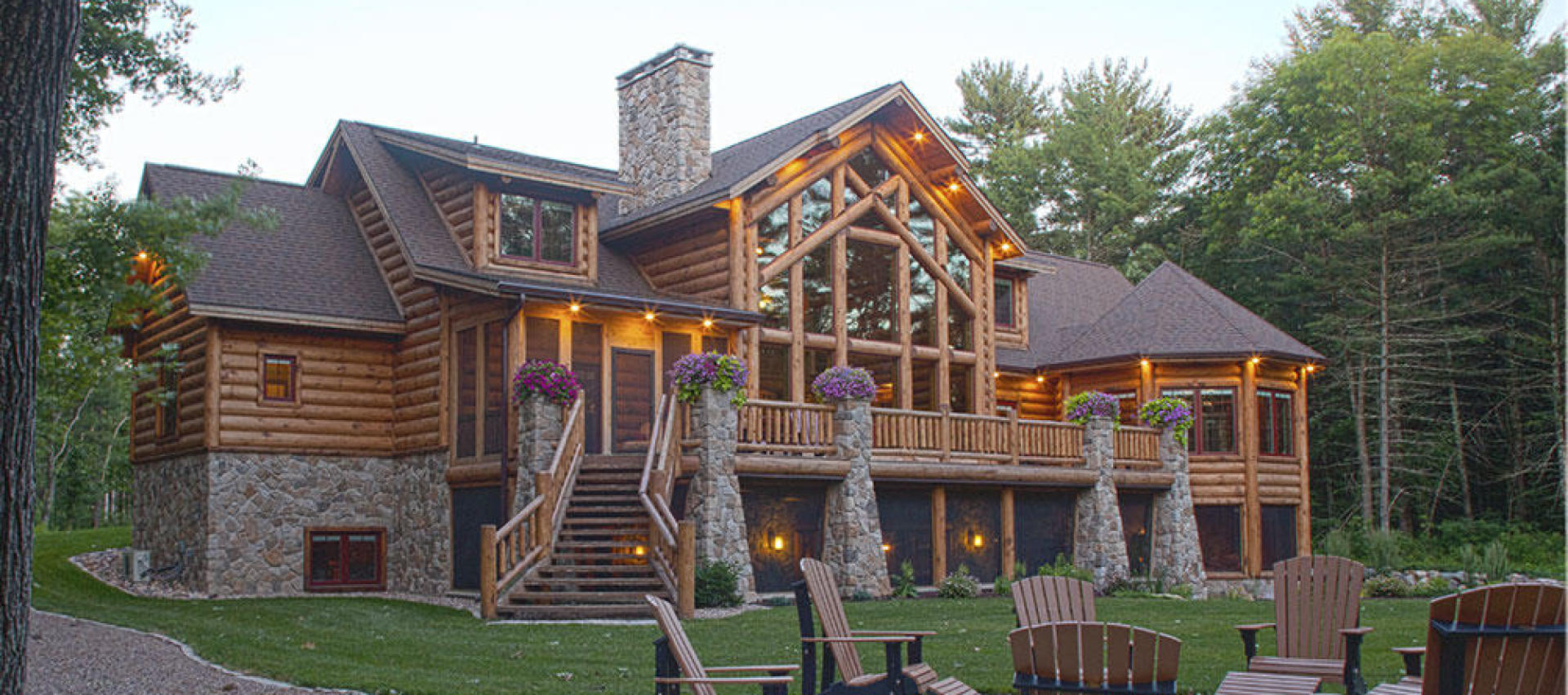 Log Homes, Log Home Floor Plans, Timber Frame Homes & Timber