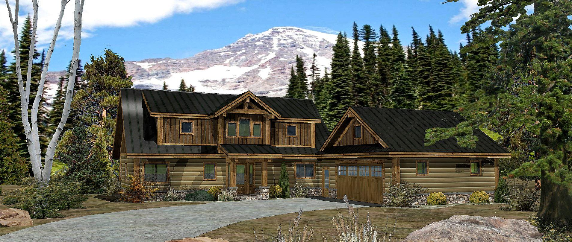 Alpine Meadow III - Front Rendering by WLH 1