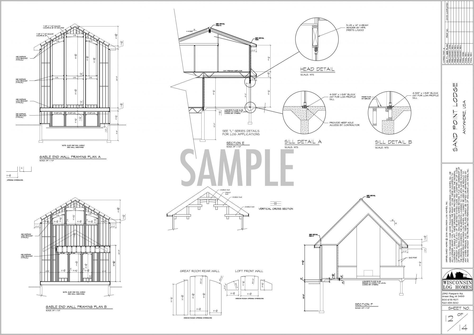 Copyright Wisconsin Log Homes